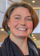 Portrait of Christine Petersen, professor in the Department of epidemiology at the University of Iowa College of Public Health