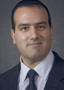 A portrait of George Wehby of the Department of Health Management and Policy at the University of Iowa College of Public Health.