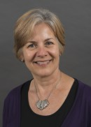 A portrait of Mary Aquilino of the University of Iowa College of Public Health.