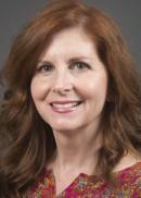 A portrait of Victoria Crabb of the University of Iowa College of Public Health.
