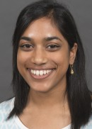 A portrait of Maya Ramaswamy of the University of Iowa College of Public Health.