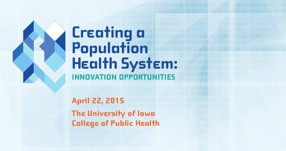 logo for Creating a Population Health System conference