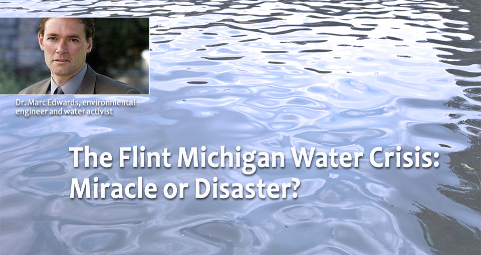 Marc Edwards to lecture on the Flint water crisis