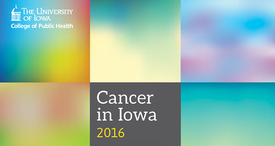 cancer in iowa 2016 report cover