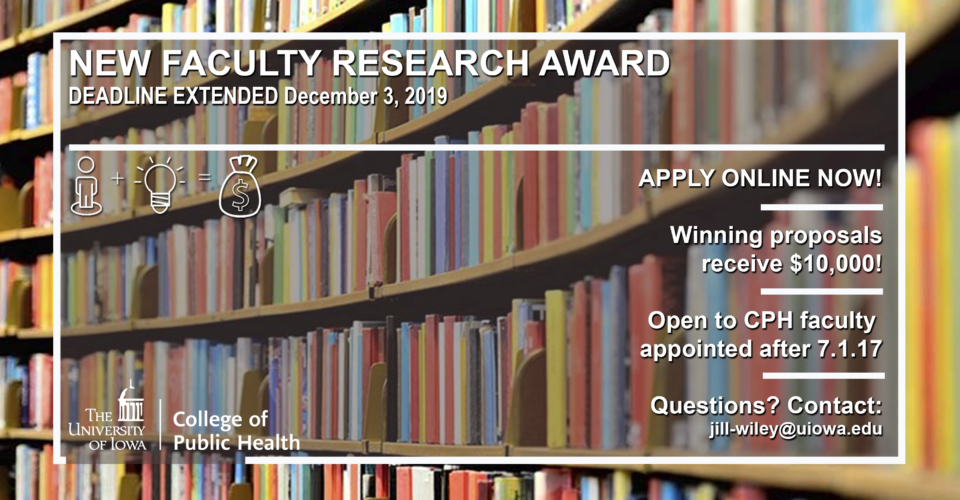 New Faculty Research Award