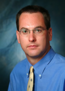 A portrait of Chris Coffey of the University of Iowa College of Public Health