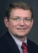 A portrait of Tom Vaughn of the University of Iowa College of Public Health