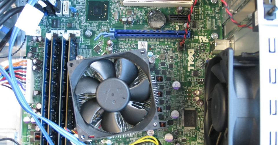 Dell computer motherboard