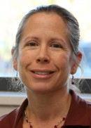A portrait of Kelly Baker, professor in the Department of Occupational and Environmental Health at the University of Iowa College of Public Health.