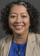 A portrait of Barbara Baquero of the Department of Community and Behavior Health at the University of Iowa College of Public Health.