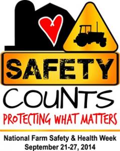National Farm Safety Week logo