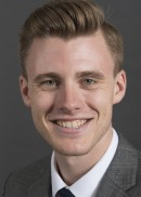 A portrait of Bryson Kruthoff of the University of Iowa College of Public Health