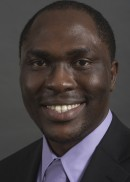 A portrait of Abiodun Salako of the University of Iowa College of Public Health