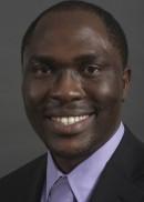 A portrait of Abiodun Salako of the University of Iowa College of Public Health