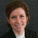 A portrait of Anna Briggs, an alumna of the Department of Occupational and Environmental Health at the University of Iowa College of Public Health.