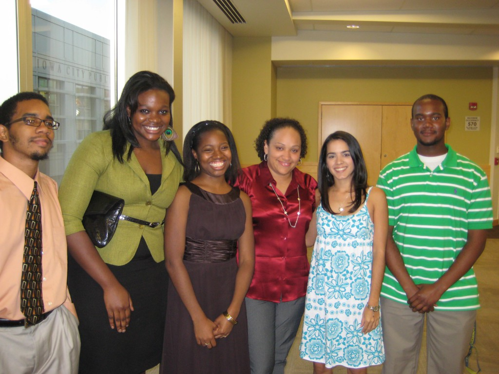 Keyla Pagan-Rivera (second from right)