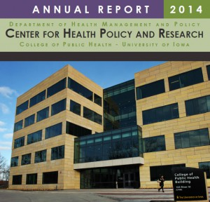 Cover of the Center for Health Policy and Research 2014 annual report