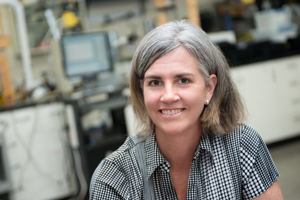 A portrait of Renee Anthony, professor of Occupational and Environmental Health at the University of Iowa College of Public Health.