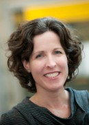 A portrait of Carri Casteel, professor in the Department of Occupational and Environmental Health at the University of Iowa College of Public Health.