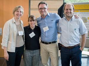 Diane Rohlman, Kate O'Brien, Matt Nonnenmann, and Marcos Grigioni at the Agricultural Medicine course