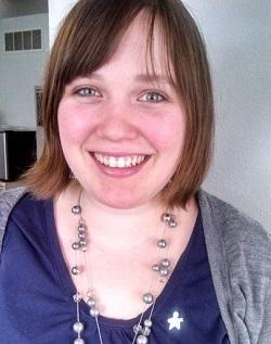 A portrait of Katie Jones, MPH '12.