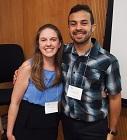 A portrait of Alexandra Stone and Jean C. Galan-Rivera of the 2015 Iowa Summer Institute in Biostatistics.