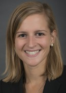A portrait of Megan LaSuer of the Department of Health Management and Policy in the College of Public Health at the University of Iowa.