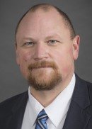 A portrait of Bryan Anderson of the Department of Epidemiology Health in the College of Public Health at the University of Iowa.