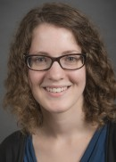 A portrait of Elizabeth Bair of the Department of Biostatistics in the College of Public Health at the University of Iowa.