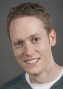 A portrait of Jacob Clark of the Department of Biostatistics in the College of Public Health at the University of Iowa.
