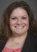 A portrait of Sarah Dickey of the Department of Health Management and Policy in the College of Public Health at the University of Iowa.