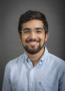 A portrait of Javier Flores of the Department of Biostatistics in the College of Public Health at the University of Iowa.