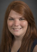 A portrait of Jessica Hinman of the Department of Epidemiology Health in the College of Public Health at the University of Iowa.