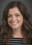 A portrait of Jenna Hohenboken of the Department of Epidemiology Health in the College of Public Health at the University of Iowa.