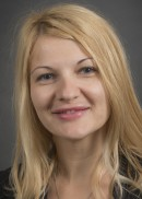 A portrait of Nina Jovanovic of the Department of Occupational and Environmental Health in the College of Public Health at the University of Iowa.