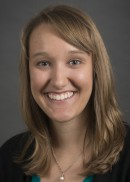 A portrait of Amanda Kahl of the Department of Epidemiology Health in the College of Public Health at the University of Iowa.