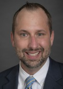 A portrait of Matthew Murphy of the Department of Health Management and Policy in the College of Public Health at the University of Iowa.