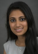 A portrait of Swati Panchal of the Department of Health Management and Policy in the College of Public Health at the University of Iowa.