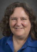 A portrait of Karen Thornton of the Department of Occupational and Environmental Health in the College of Public Health at the University of Iowa.