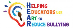 Logo for HEAR - Helping Educators Use Art to Reduce Bullying
