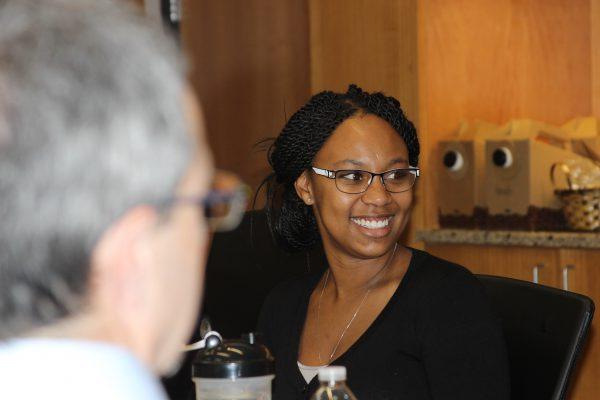PharmD-MPH alumna Shardé Hameed.