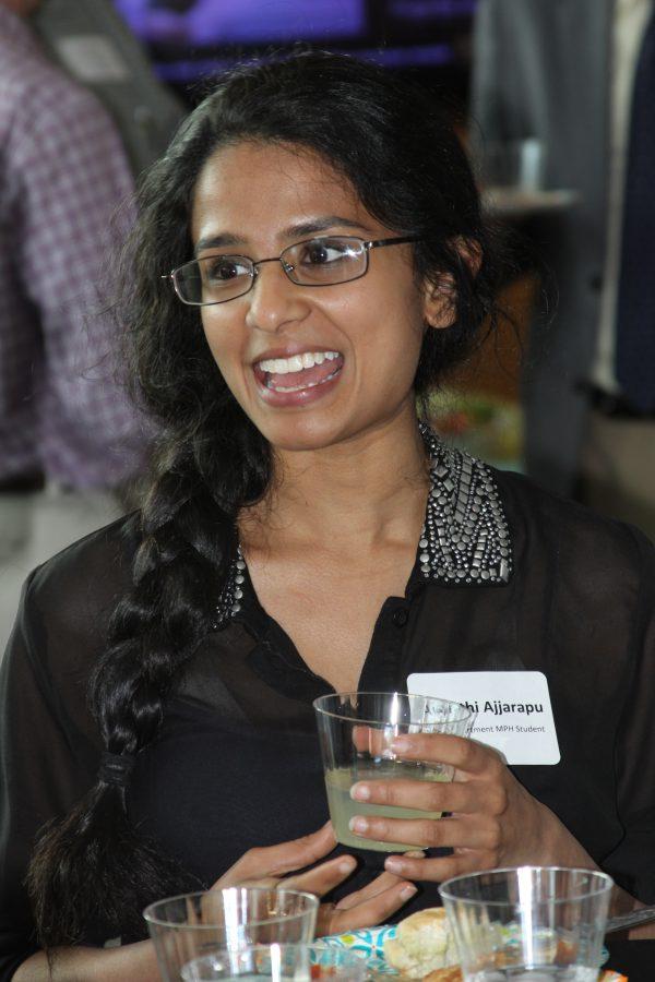 MPH student Avanthi Ajjarapu.