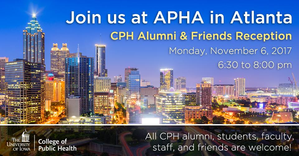 APHA 2017 reception slider