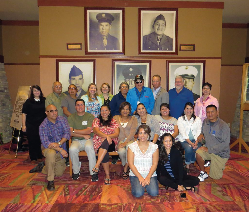 a group shot of Leadership Academy participants