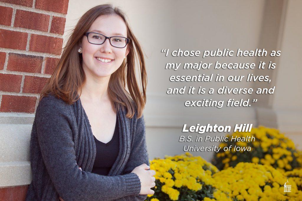 Leighton Hill: public health is essential