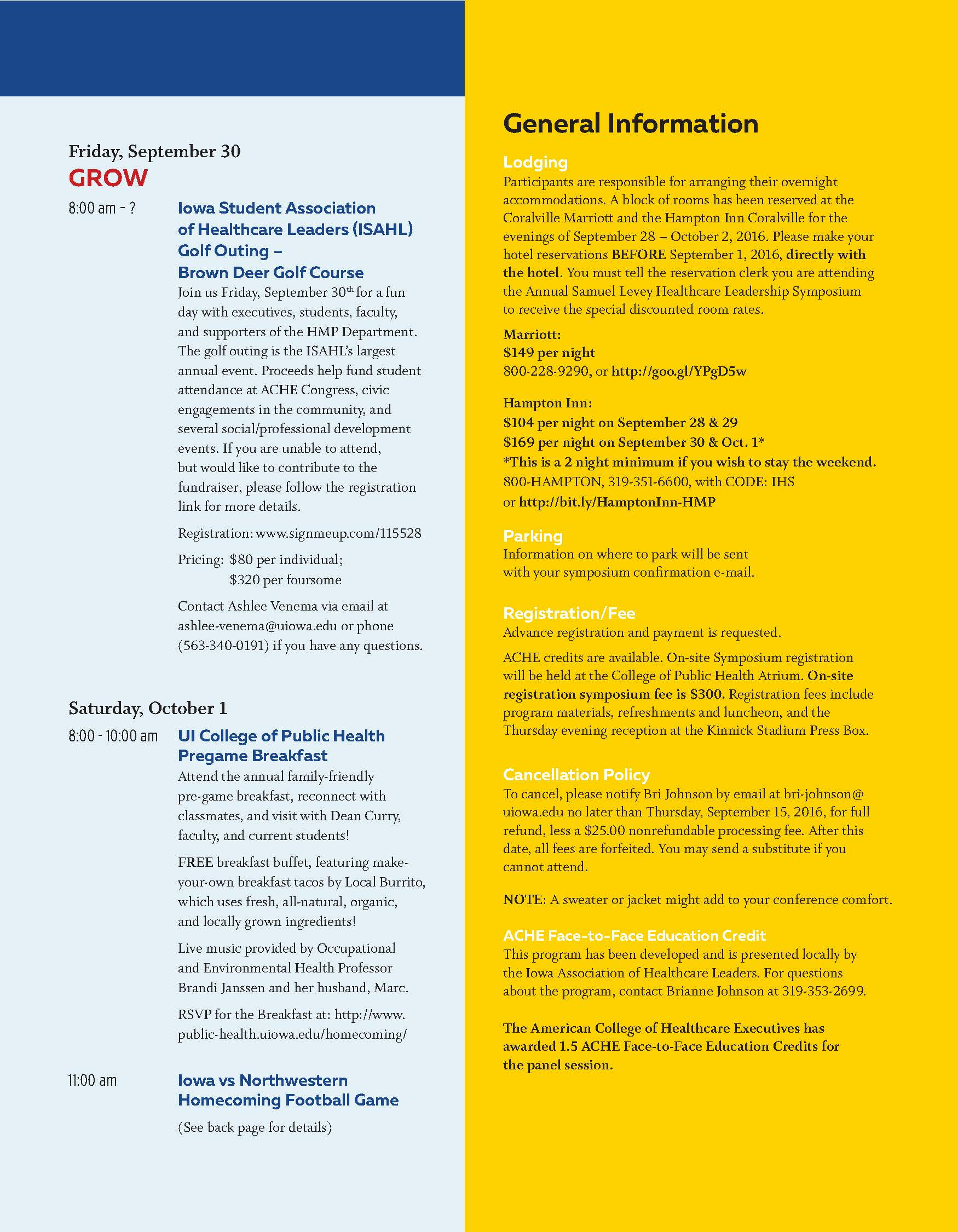SLHL Symposium Agenda 2