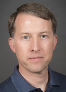A portrait of Brian Smith, professor in the Department of Biostatistics at the University of Iowa College of Public Health.
