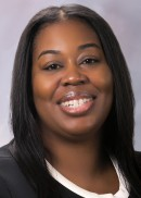 A portrait of Latoya Lewis of the University of Iowa College of Public Health.