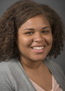 A portrait of Shaunae Alex of the University of Iowa College of Public Health.