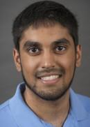 A portrait of Saad Ansari of the University of Iowa College of Public Health.